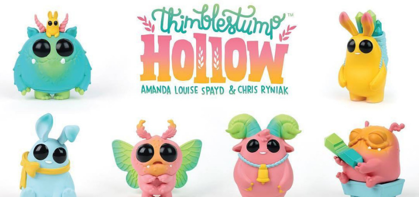 Surge Licensing signs Good Smile Company for Thimblestump Hollow™ for Collectible Toy Figures, Apparel & Accessories aimed at specialty retail and Comic-Con Experiences! image
