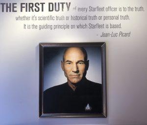 Star Trek Picard Museum