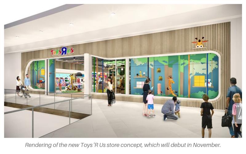 New TRU Store Rendering