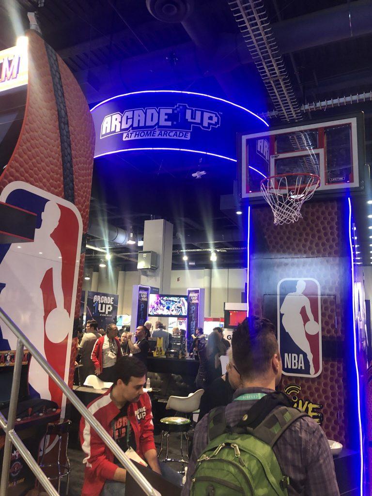 CES 2020 Arcade Up NBA
