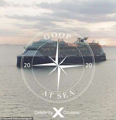 Paltrow Celebrity Cruises Goop Licensing international
