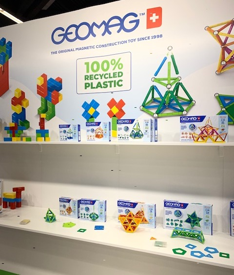 Geomag Sustainability Toys Recycled Plastic