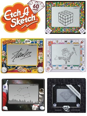 Spin Master Etch A Sketch Monopoly Stan Lee Spin Master