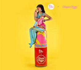 Chupa Chups Perfett Van Melle Christine Cool Polka Beauty India