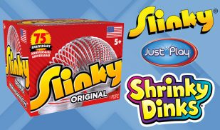 Slinky Shrinky Dinks Alex Brands Licensing International John Play