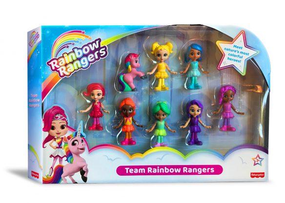 Rainbow Rangers Genius International Mattel Licensing International