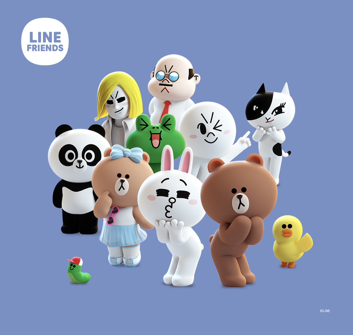 WildBrain CPLG Connects With New European Partners For Line Friends image