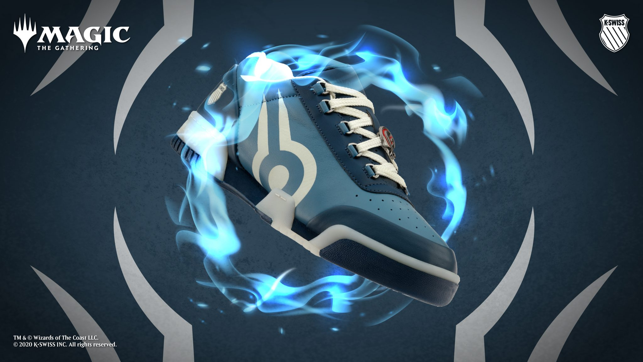 K-Swiss and Magic The Gathering Collaborate for a Uniquely Magical Reimagination of the Gstadd '86: Magic image