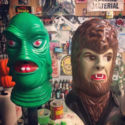 Neca Unleashes Universal Monsters With A Series Of Limited Edition Collectible Masks Licensing International