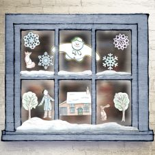 The Snowman Winter Windows