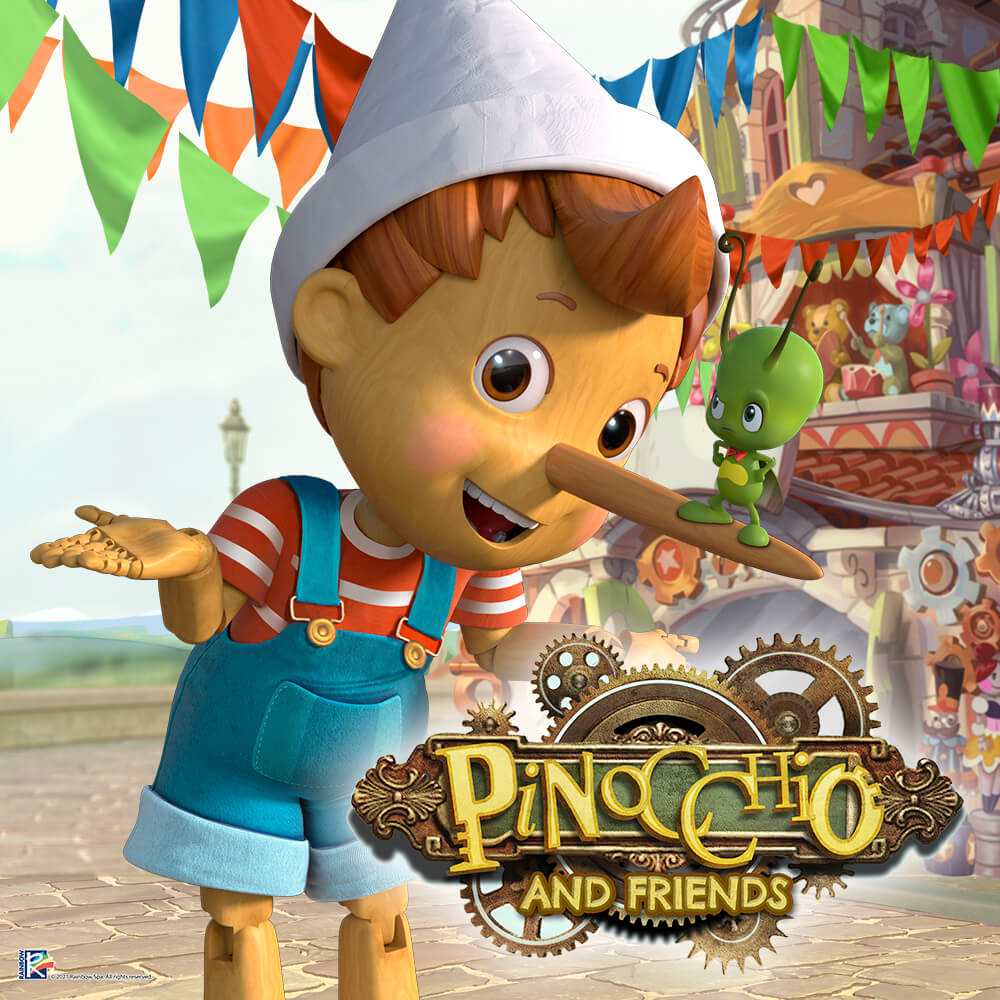 """""""Pinocchio and Friends"""" will come alive on the small screen in Q4 2021 image"""