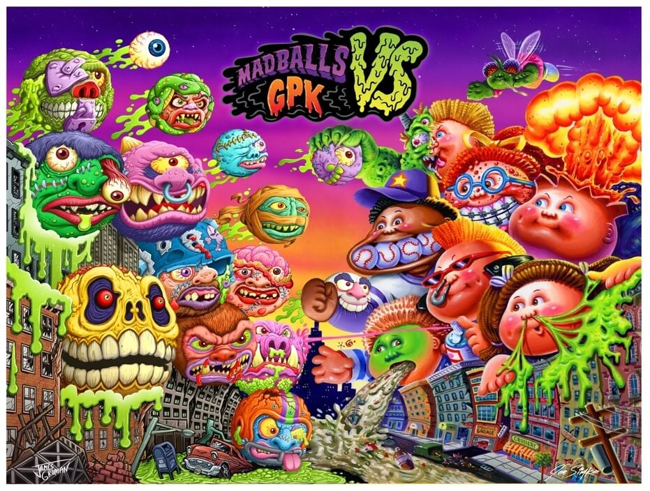 Madballs vs. Garbage Pail Kids Face-Off in 'Battle of The Grossest' Brand Collaboration image