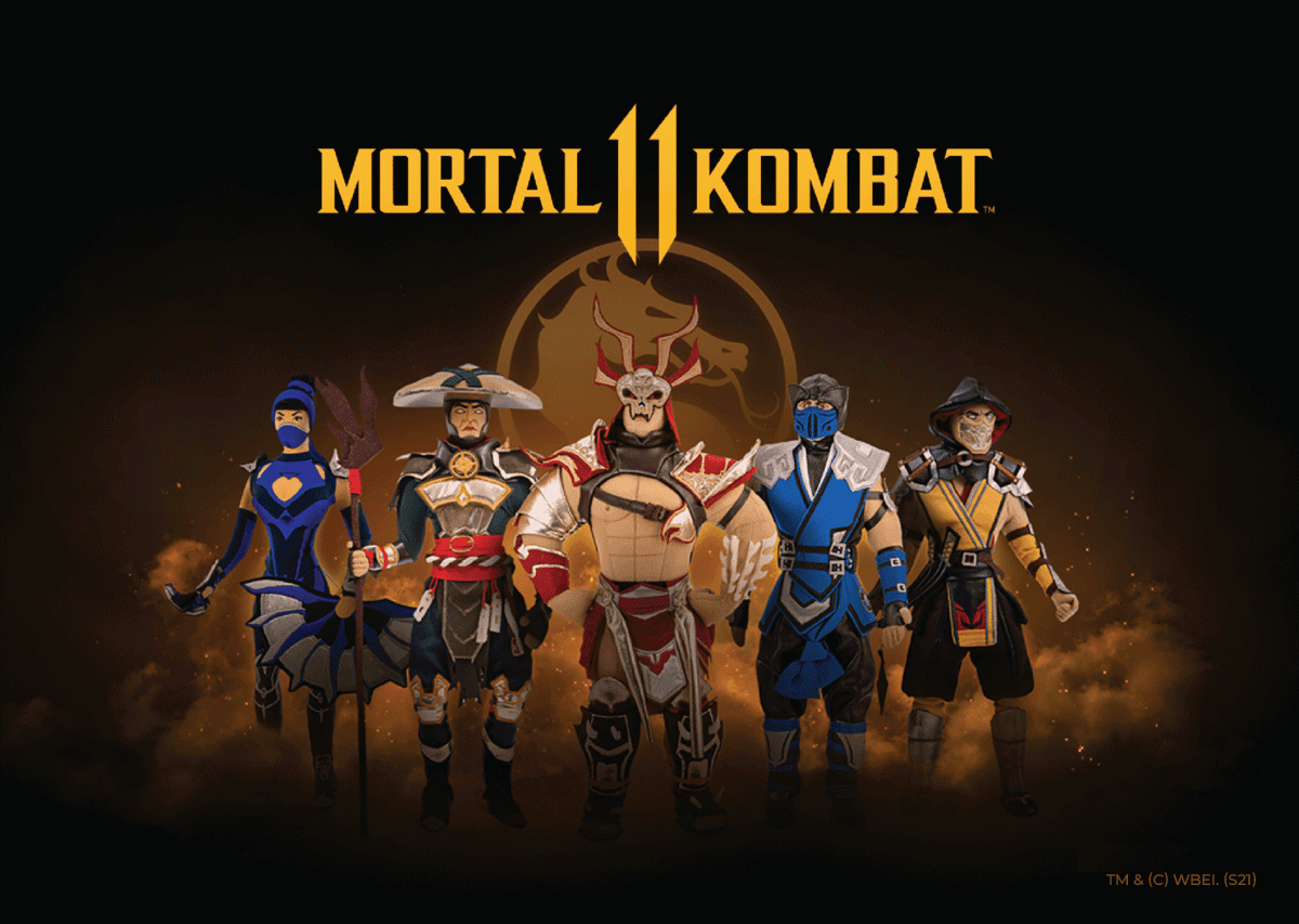 WP Merchandise Has Launched a Premium Collection of Mortal Kombat 11 Merchandise Licensed by Warner Bros. image