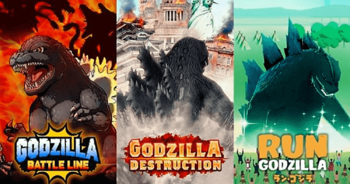 Godzilla Takes on the Mobile Game World with Three Brand New Games for iOS and Android image