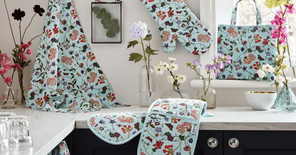 RHS and Ulster Weavers Announce New Kitchen Textiles Range image