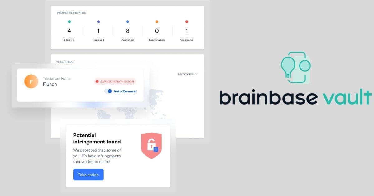 Brainbase Launches Online Trademark Filing and Protection Platforms To Help Creators And Companies Safeguard Their Brand In Minutes image