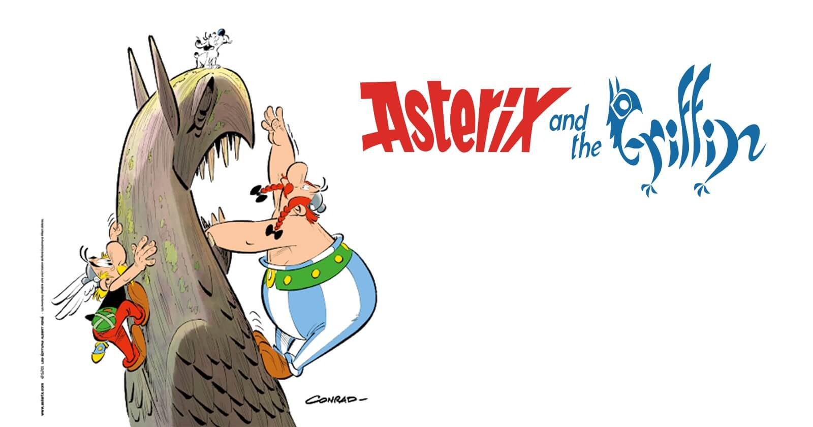 The thirty-ninth comic book adventure of Asterix, Obelix and Idefix arrives on October 28, 2021 image