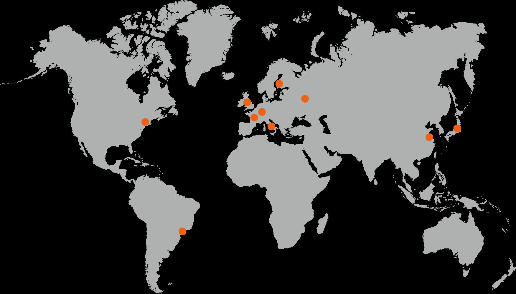 International Office Map