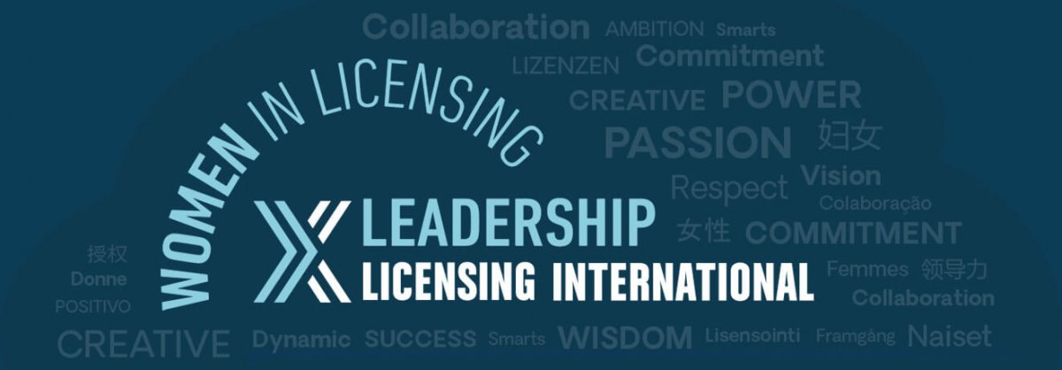 Women in Licensing Leadership Logo