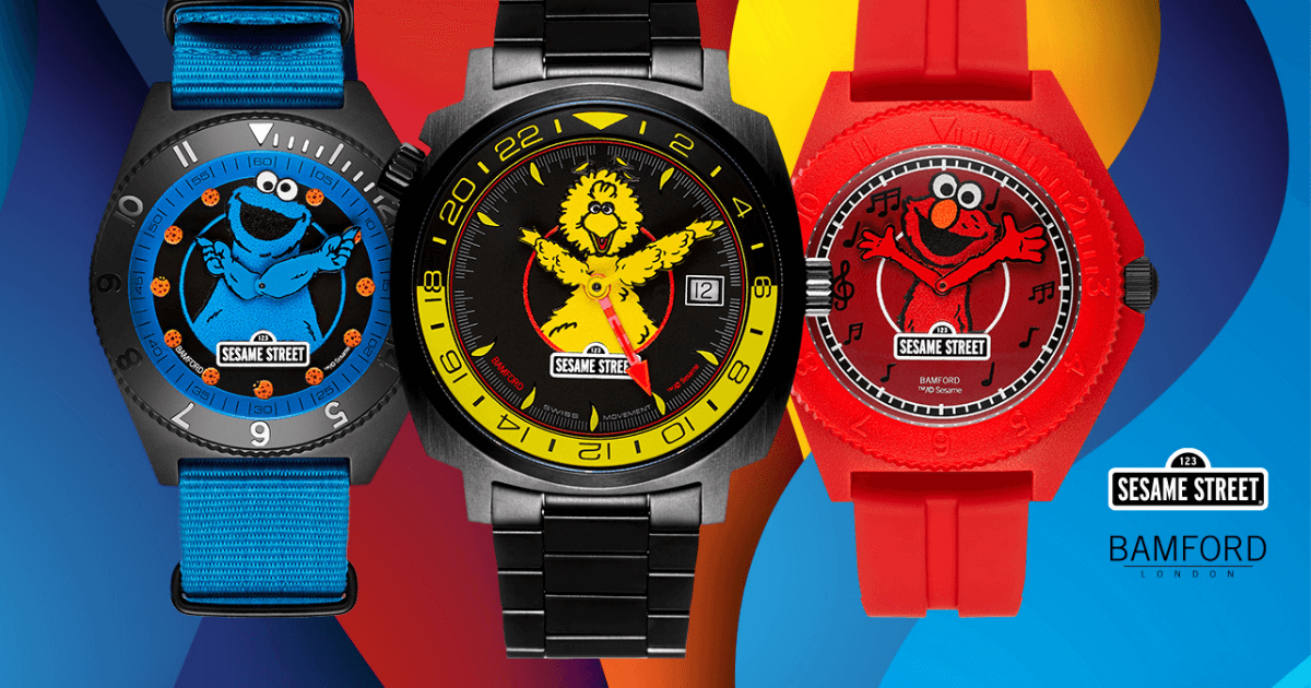 Bamford London Unveils Limited Edition Sesame Street Collection image