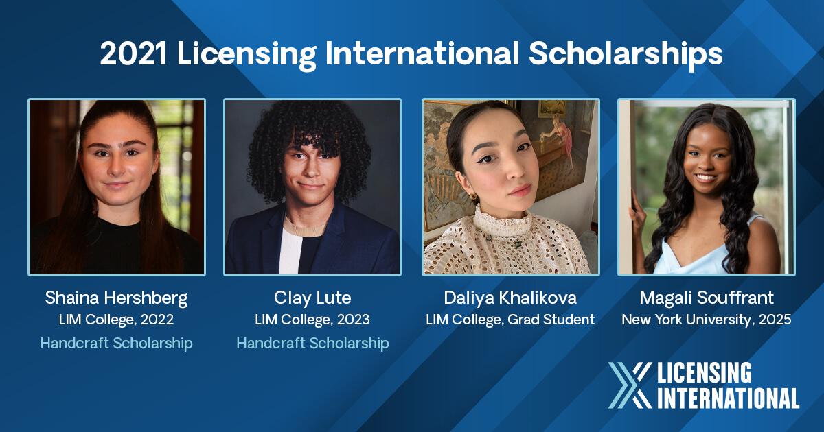 2021 Licensing International Scholarships