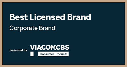 Licensing Excellence Awards Best Licensed Brand Corporate