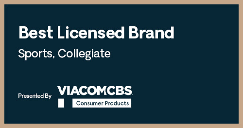 Licensing Excellence Awards Best Licensed Brand Sports Collegiate