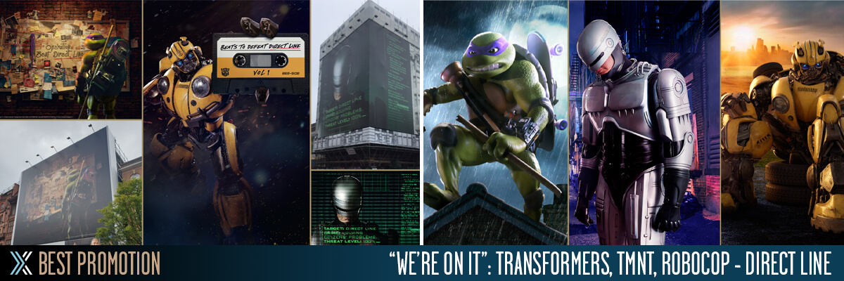 Licensing International Excellence Awards: Promotion Transformers, TMNT, Robocop