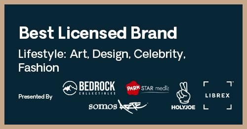 Licensing International Excellence Awards Best Lifestyle Art Design Celebrity Fashion Brand