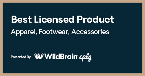 Licensing International Excellence Awards Best Licensed Product Apparel Footwear Accessories