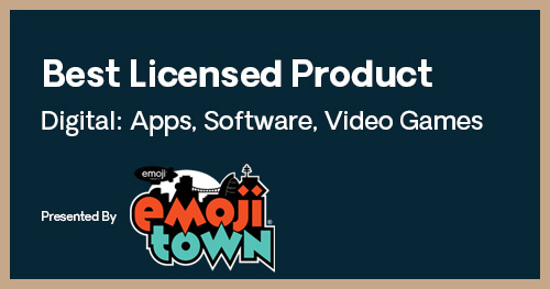 Licensing International Excellence Awards Best Licensed Product Digital Apps Software Video Games