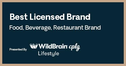 Licensing International Excellence Awards Best Licensed Brand Food Beverage Restaurant