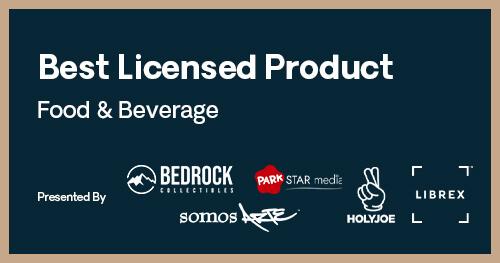 Licensing International Excellence Awards Best Food & Beverage Product