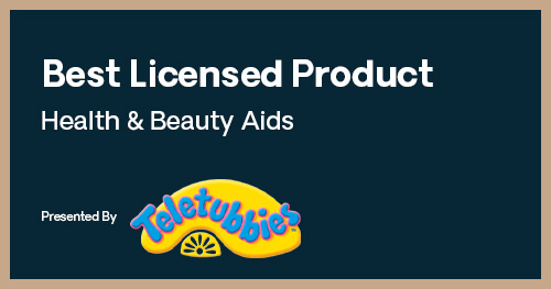 Licensing Excellence Awards Best Licensed Product Health & Beauty Aids