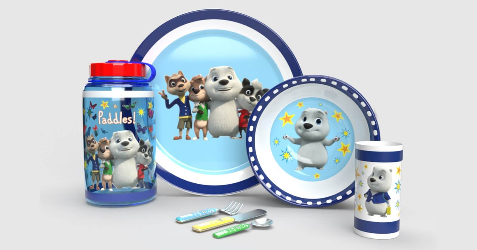 FuturumKids Announces Licensing and Merchandising for Paddles image