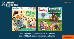 Webinar – La stratégie de communication et licences des 100 plus grandes enseignes en France event image