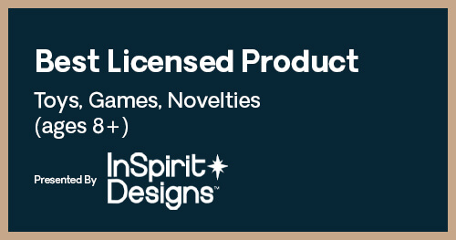 Licensing International Excellence Awards Toys 8+ Product