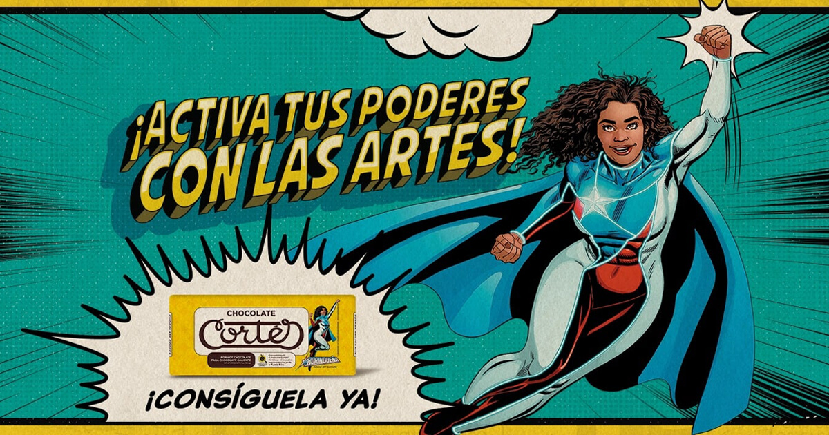 La Borinqueña and Chocolate Cortés Join Forces to Support the Arts image