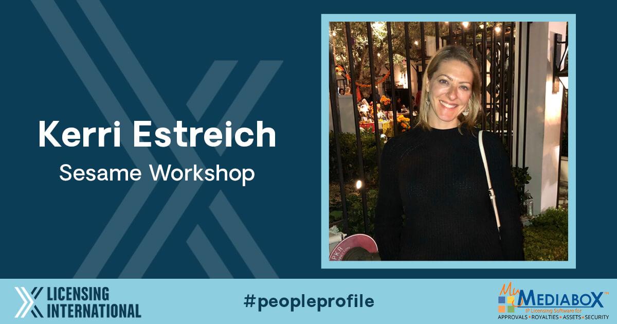 People Profile: Kerri Estreich, Senior Director of Licensing, Sesame Workshop image