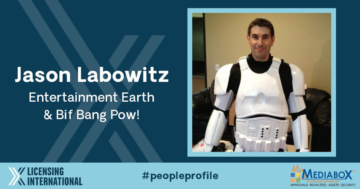 People Profile: Jason Labowitz, President, Entertainment Earth, and Managing Partner, Bif Bang Pow! image