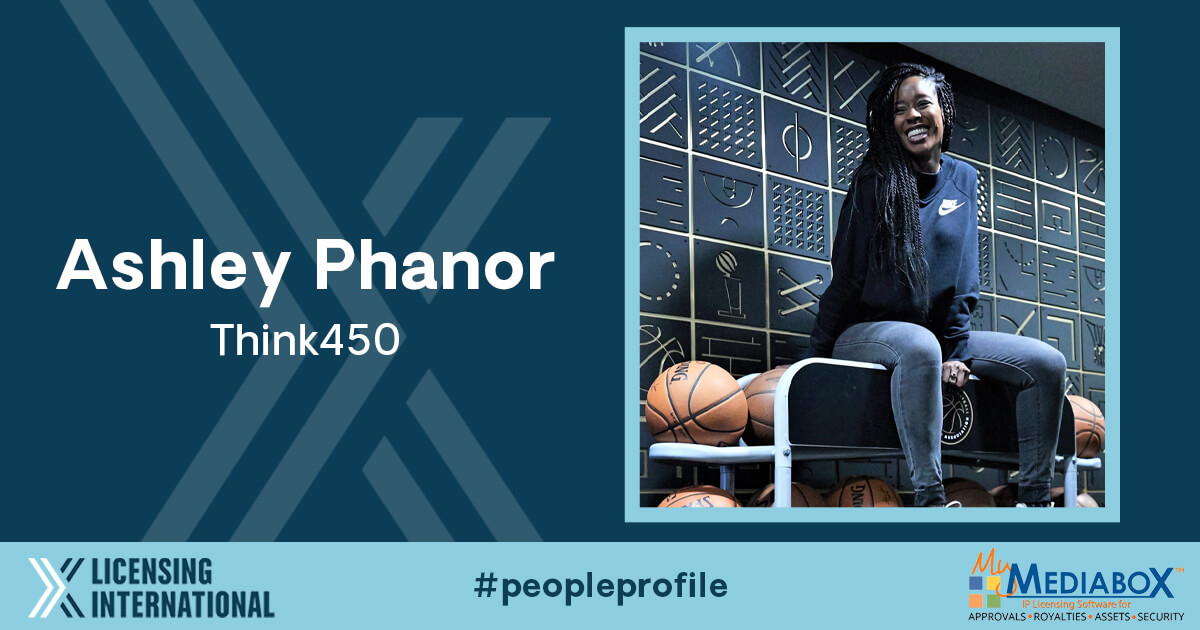 People Profile: Ashley Phanor, Licensing Manager, Think450 image
