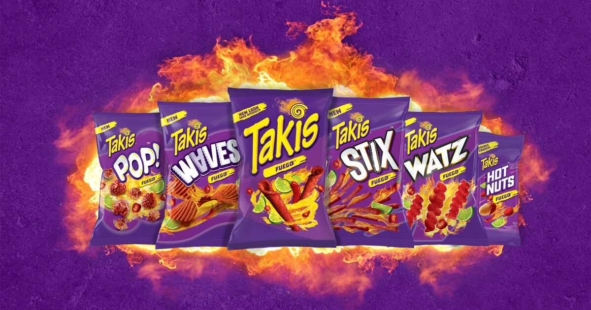 Brand Central Turns up the Heat with Takis® Snacks image
