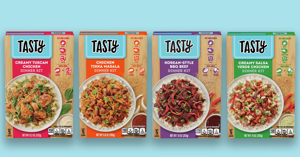 BuzzFeed and General Mills Team Up to Make Cooking Delicious Meals Easier image
