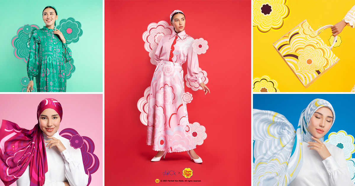 """Shine This Summer With the """"Pop-timistic"""" dUCk X Chupa Chups Fashion Collection image"""