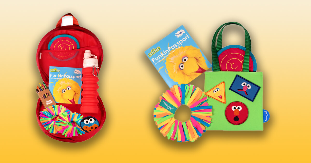 PunkinFutz Creates Collection of Adaptive Play Products Featuring Sesame Street Characters image
