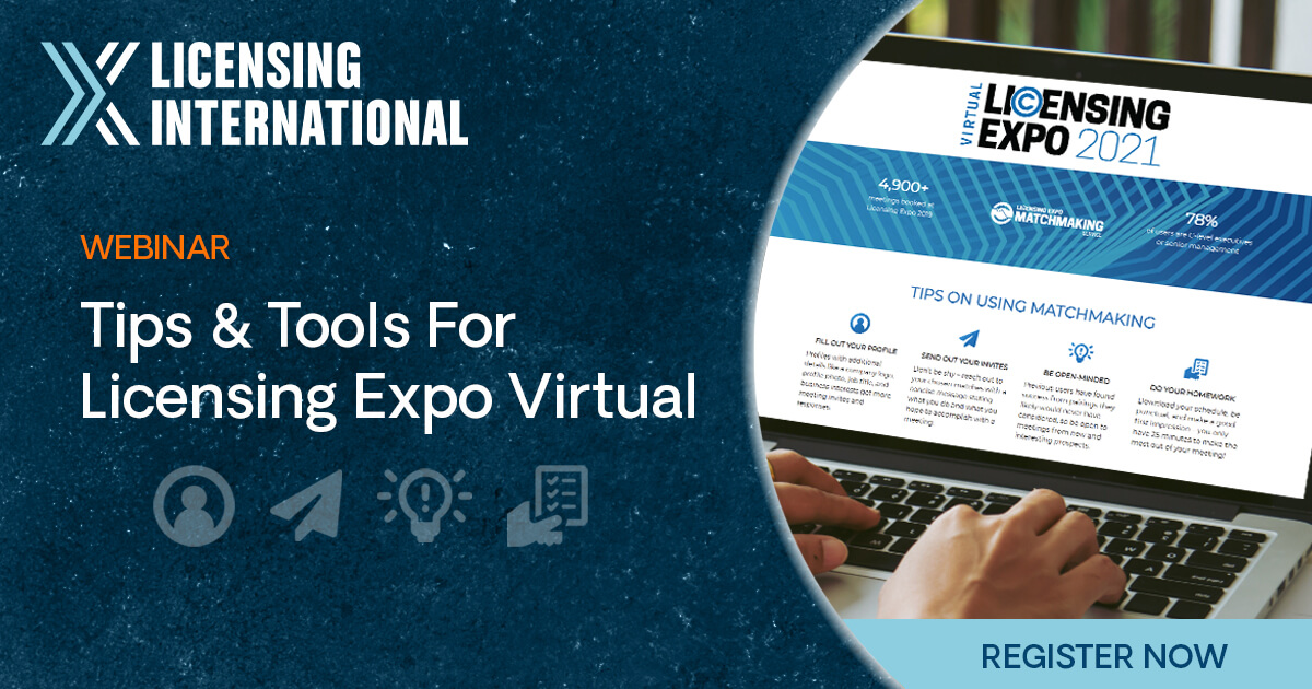 Tips & Tools for Licensing Expo Virtual image