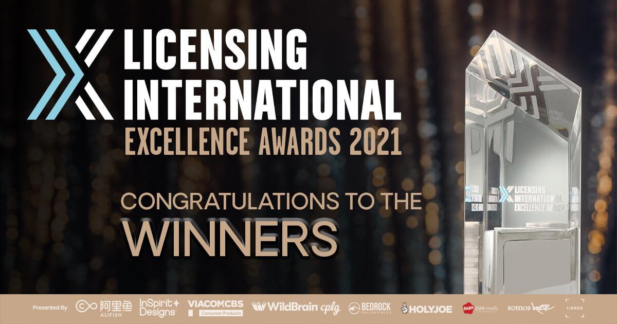 Licensing International Excellence Award Winners