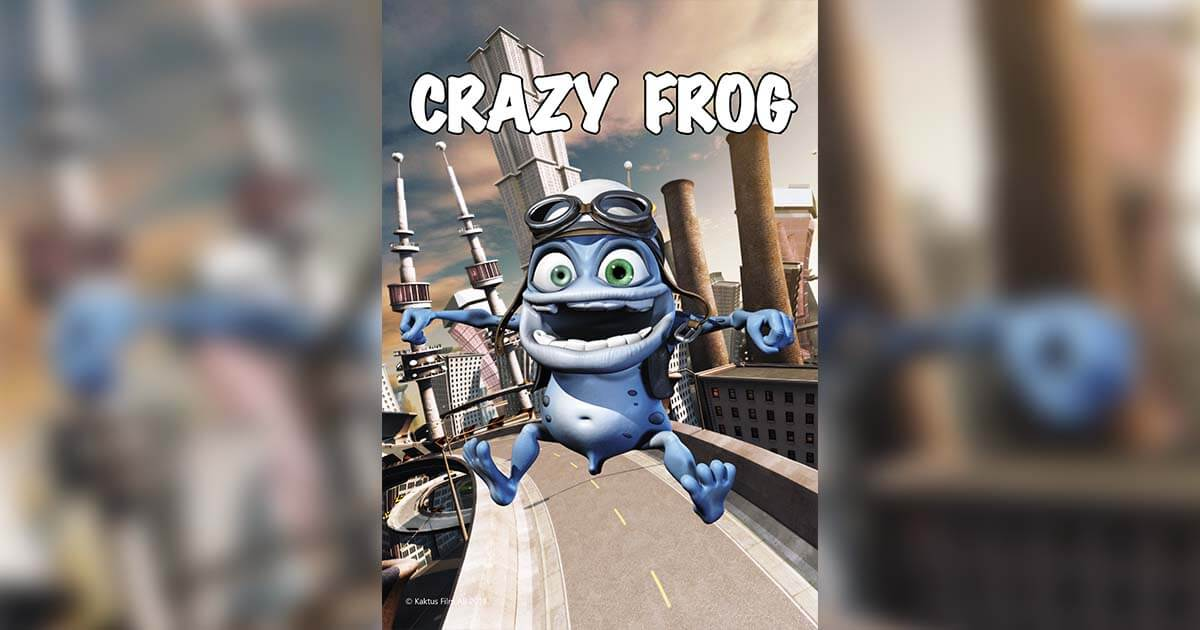 King Features Expands Its Roster Of Iconic Properties With Internet Phenomenon Crazy Frog image