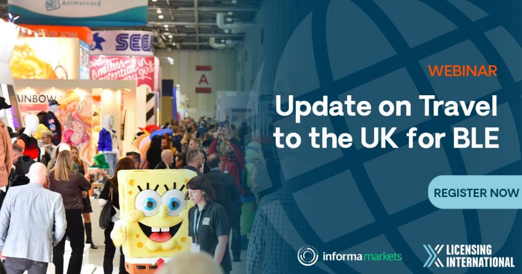 Update on Travel to the UK for BLE event image
