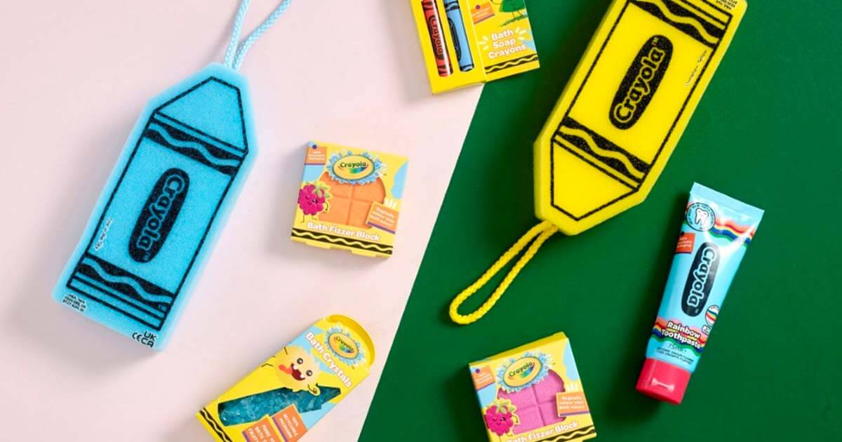 H&A Announces Colourful Partnership with Crayola image